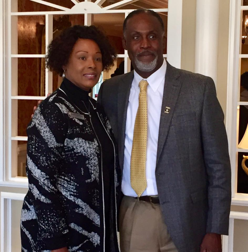 2019 WBOR President Penny Whitfield (pictured with her brother James Whitfield)